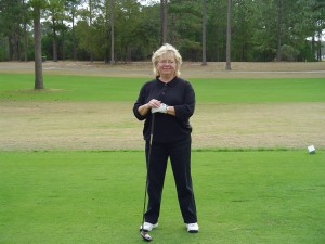 That's me at the tee box!