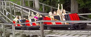 The Rollo Coaster (photo courtesy of Idlewild Park)