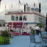 One of the Gateway Clipper fleet. We didn't ride it, we just looked at it.
